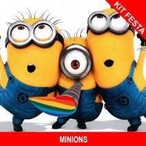 MINIONS - Kit Festa