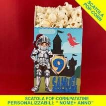 CAVALIERI - Scatola Popcorn